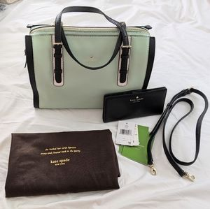 Kate Spade Purse and Wallet VGUC